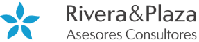 Logo rivera y plaza